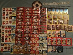 Job Lot of X 93 Football Sticker / Card Packets (Merlin Topps Panini) World Cup