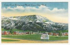 PC, Motor Lodge, Cedar Crest Lodge and Motel, Cedar City, Utah, ca1940s-50s