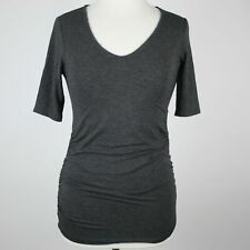 A PEA IN THE POD Ruched Side Maternity Top XS