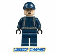 LEGO Minifigure - Guard ball cap scared - Jurassic World jw040 FREE POST
