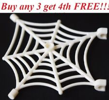 ☀️NEW Lego Halloween Animal WHITE Spider Web Spiderweb w/ clips Scary