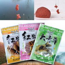 Red Worm Green Grass Granular Fishing Bait Additive Carp Catfish Feeder Bait OZ