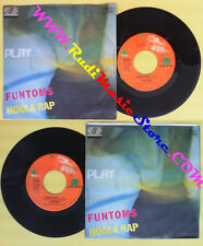 LP 45 7'' FUNTOMS Hoola rap 1984 italy JUPITER JU 11009 no cd mc dvd