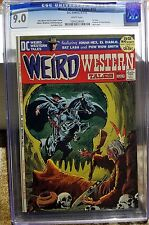 Weird Western #12 1st Issue!  White Pages!  CGC 9.0