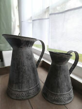 Unbranded French Country Metal Decorative Vases
