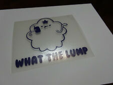 Lumpy Space Princess What The Lump Decal Sticker Adventure Time