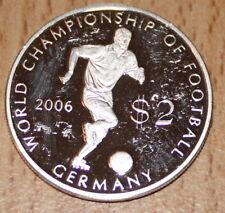 Cook Island 2 $ world champion chip of germnay 2006 aus 2003 pp