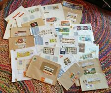 Stamp Mini Sheets Cancelled Bulk Lot Still on Packaging