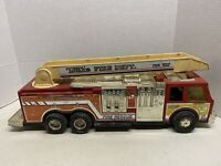 Tonka Fire Truck With Ladder For Parts Only