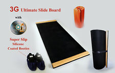 3G Ultimate 5ft x 2ft Black Premium Thick Slide Board New nano buffed surface
