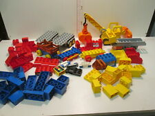 LEGO DUPLO   LOTTO  VEICOLI E MATTONCINI  COSTRUZIONI LEGO DUPLO