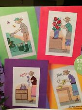 Quirky Mothers Day Cards Cross Stitch Chart