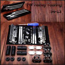 Hard bag Saddlebag Hardware Latch Hinge Lock Kit For Harley 94-12 Road King Part