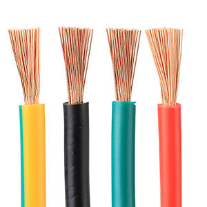 RV 0.75mm²- 4.0mm² PVC Insulated - Pure Copper Single Core Wire Various Colors