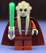 LEGO® brick STAR WARS™ KIT FISTO™ 9526 Minifigure + Brown Cape & Lightsaber!