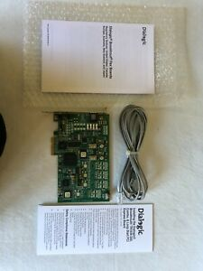 Dialogic Brooktrout TR1034+013-2L Half 901-013-01 & Phone LIne , Voice Fax Card