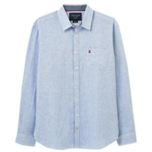 Joules Warwick Shirt - Blue White Stripe - RRP £54.95