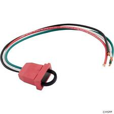 Hot Tub Pump 1, 2 Speed, Receptacle Replacement Molded, Red, 14/4 09-0022C-A