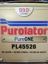 PL45526 Purolator PureONE Oil Filter NOS Made in USA