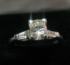 PLATINUM GIA Certified Luxury 1.22ct   Diamond Ring, Appraisal, GIA Certificate