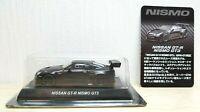 1/64 Kyosho NISSAN SKYLINE GT-R NISMO GT3 MATTE BLACK R35 diecast car model