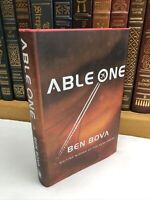 2010 ~ Able One ~ Ben Bova ~ SIGNED 1st Edition TOR Hardcover w/ Dust Jacket