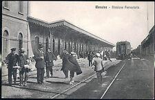 1915 - Messina - Stazione Ferroviaria (con treno)