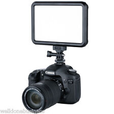 Excelvan PT-12B LED Video Light Dimmable Color On-Camera Pad Touching Flat Panel