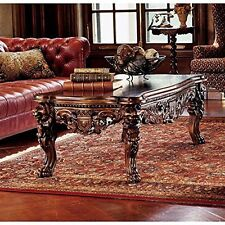 Af7280- The Lord Raffles Grand Hall Lion Leg Coffee Table - New!
