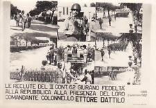 C595) BARI, GIURAMENTO RECLUTE II CONT. 62, 48 REGGIMENTO FANTERIA FERRARA.