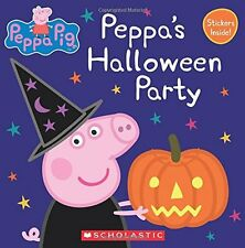 Peppa Pig: Peppa's Halloween Party (2016, Paperback Picture Book)