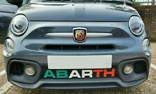 Abarth 595 Styling-Letters Diffuser Badge - Italian Flag - Multiple Colours