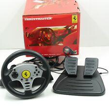 Thrustmaster Ferrari Racing Steering Wheel  PS2 / Gamecube / PS1