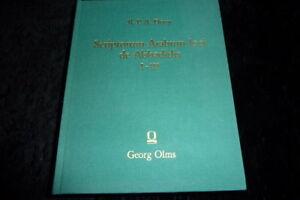Dozy: Scriptorum Arabum loci de Abbadidis I - III  [1846] G. Olms Verlag (1992)