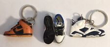 3d Mini Sneaker & Keychain  SF Dunk  SB Cement  2-D AJ  (Bundle)  ChopShop408