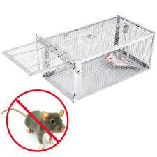 Hot XXXL Rattenfalle 28 cm Lebendfalle Käfigfalle Mausefalle für Rat Squirrel