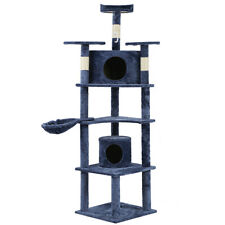 "New Cat Tree 72"" Condo Furniture Scratching Post Pet Cat Kitten House T72"
