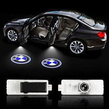2Pcs Willkommen Laser Projektor Türlicht Logo LED Ghost Shadow Lampe für BMW!