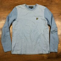 Lyle And Scott Sweatshirt Jumper Blue Small