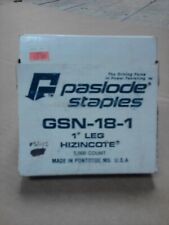 """PASLODE GSN-18-1"""" STAPLE QTY 5,000"""