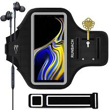 Galaxy Note 9 Armband, Sweatproof Running Exercise Gym Cellphone Sportband Black