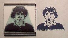 Gilligan Bob Denver rubber stamp by Amazing Arts