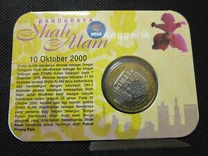 RARE!!! 2000, Brilliant Uncirculated Coin - Bandaraya Shah Alam