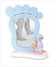 Baby Boy Nursery My First Step Picture Photo Frame