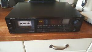 Denon DR M10HX Cassette Deck. Good condition,
