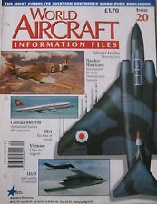 World Aircraft Information Files Issue 20 Hawker Hurricane cutaway & poster