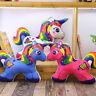 "16""/20"" Unicorn Stuffed Animal Plush Toys Pillow Cushion Rainbow Gifts for Girls"