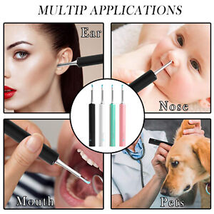 Wireless HD WiFi Ear Spoon Cleaner Smart Visual Endoscope For IPhone Android