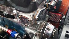 Datsun Z 240Z 260Z 280ZX Engraved Polished Fuel Pump Block Plate Gasket & Bolts
