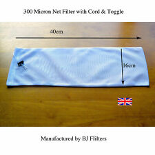 Best Écrou Lait-Kefir-Filtre 300 µ Net-Cordon & Toggle 16 cm x 40 cm £ 4.50